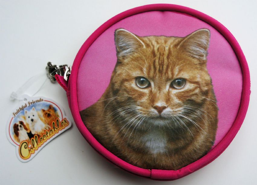 CAT (GINGER) COIN PURSE
